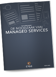 White Paper:<br/ > <strong>De Noodzaak van Managed Services</strong>